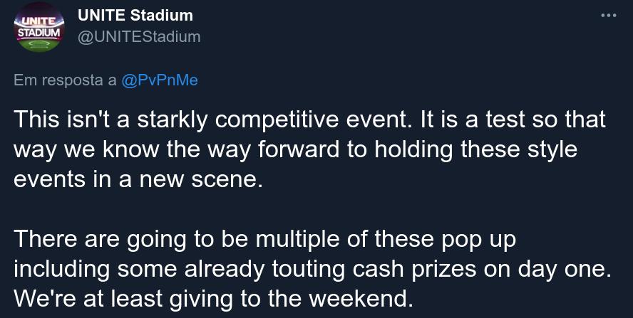 pokemon unite competitivo torneio