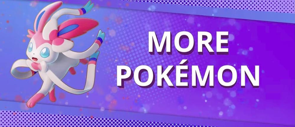 pokemon unite novos pokemon jogáveis