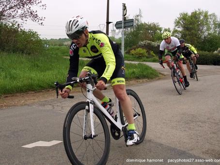 Rémy LEBLEU est le coureur du début de la première saison du VCSG 75 !