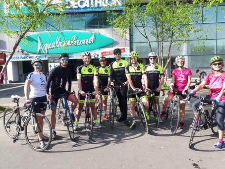 Le VCSG 75 accompagne Décathlon Aquaboulevard dans l'organisation d'une sortie vélo