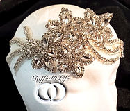 Bridal Rhinestone Headpiece Accessory