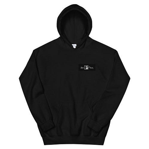 Φούτερ Unisex  Μαύρο/Λευκό