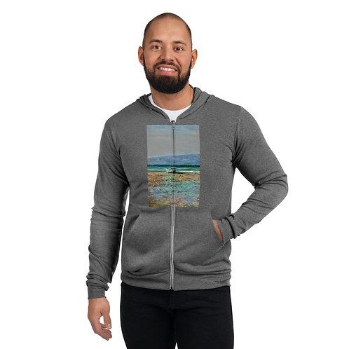 Unisex Lightweight Zip Hoodie