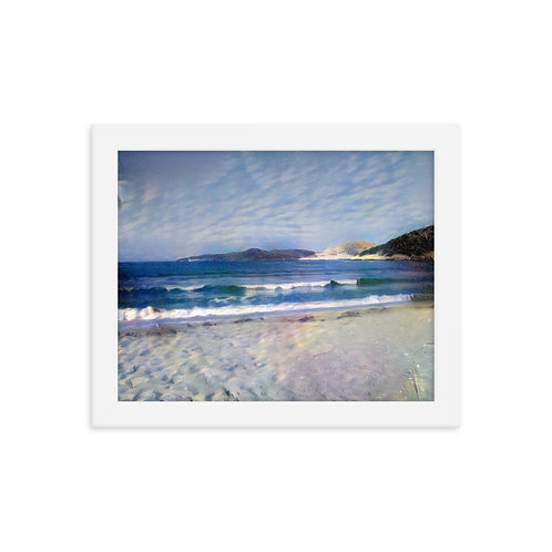 Premium Luster Photo Paper Framed Poster - small
