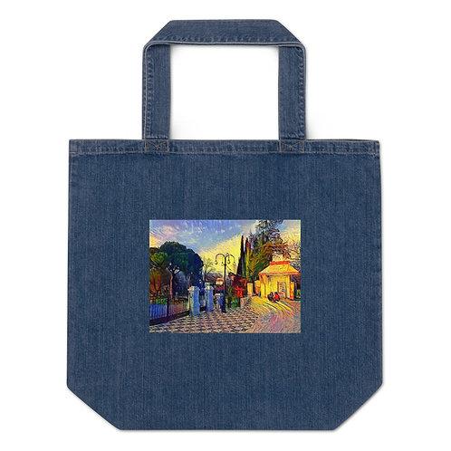 Organic Denim Tote Bag