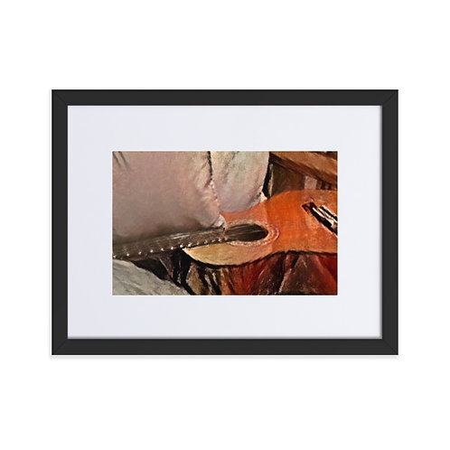 Matte Paper Framed Poster with Mat - small