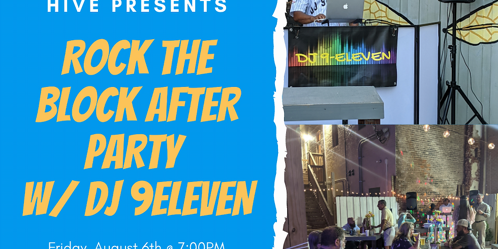 Rock the Block After Party!