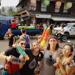 Nouvel An lao à Luang Prabang