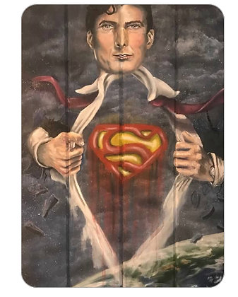 Greeting Card - Man of Steel