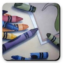 Coaster - Spilt Color
