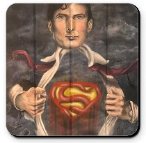 Coaster - Man of Steel