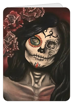Greeting Card - Day of the Dead