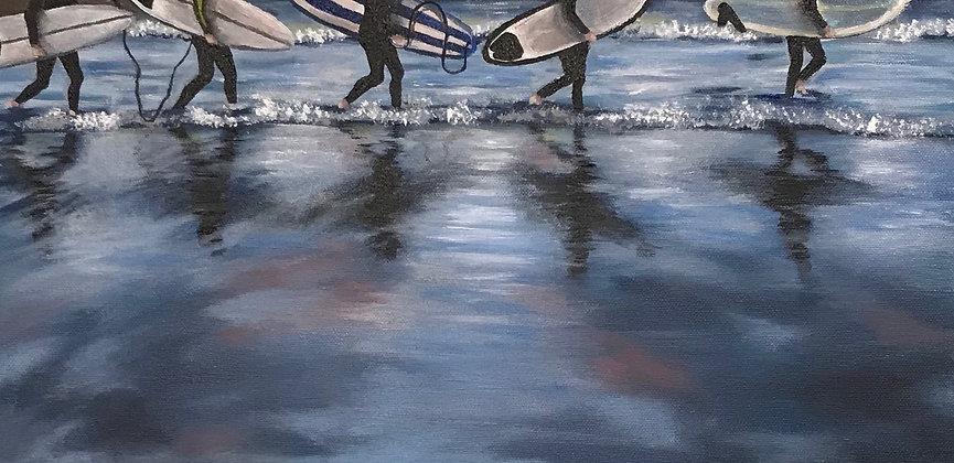 Surfer März