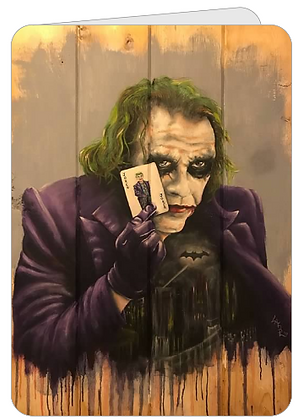 Greeting Card - Why So Serious