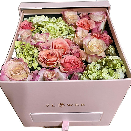 Forever Roses Jewelry Box