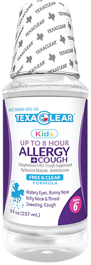 TexaClear® Kids Allergy Relief Liquid 8oz