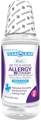 TexaClear® Kids Allergy Relief Liquid 8oz