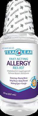 TexaClear® Allergy Relief Liquid 8oz