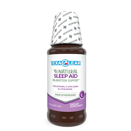 TexaClear® Natural Nighttime Sleep Aid