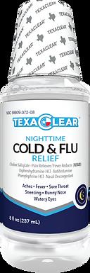 TexaClear® Nighttime Cold & Flu Liquid Relief
