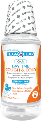 TexaClear® Kids Daytime Cough & Cold Liquid