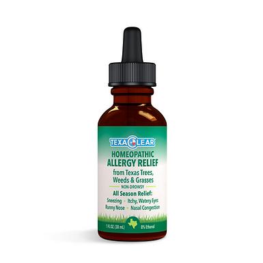 TexaClear® Natural Texas Allergy Relief Drops (1oz / 2oz)