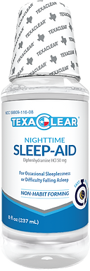 TexaClear® Nighttime Sleep-Aid