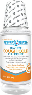 TexaClear® Daytime Cough, Cold & Flu