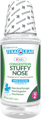 TexaClear® Kids Stuffy Nose Relief - Ages 2+