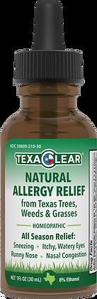 TexaClear® Natural Texas Allergy Relief Drops