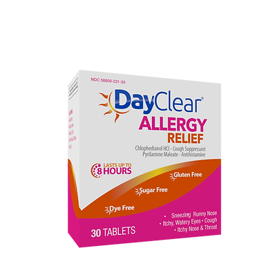 DayClear® Allergy Relief Tablets 30 Count