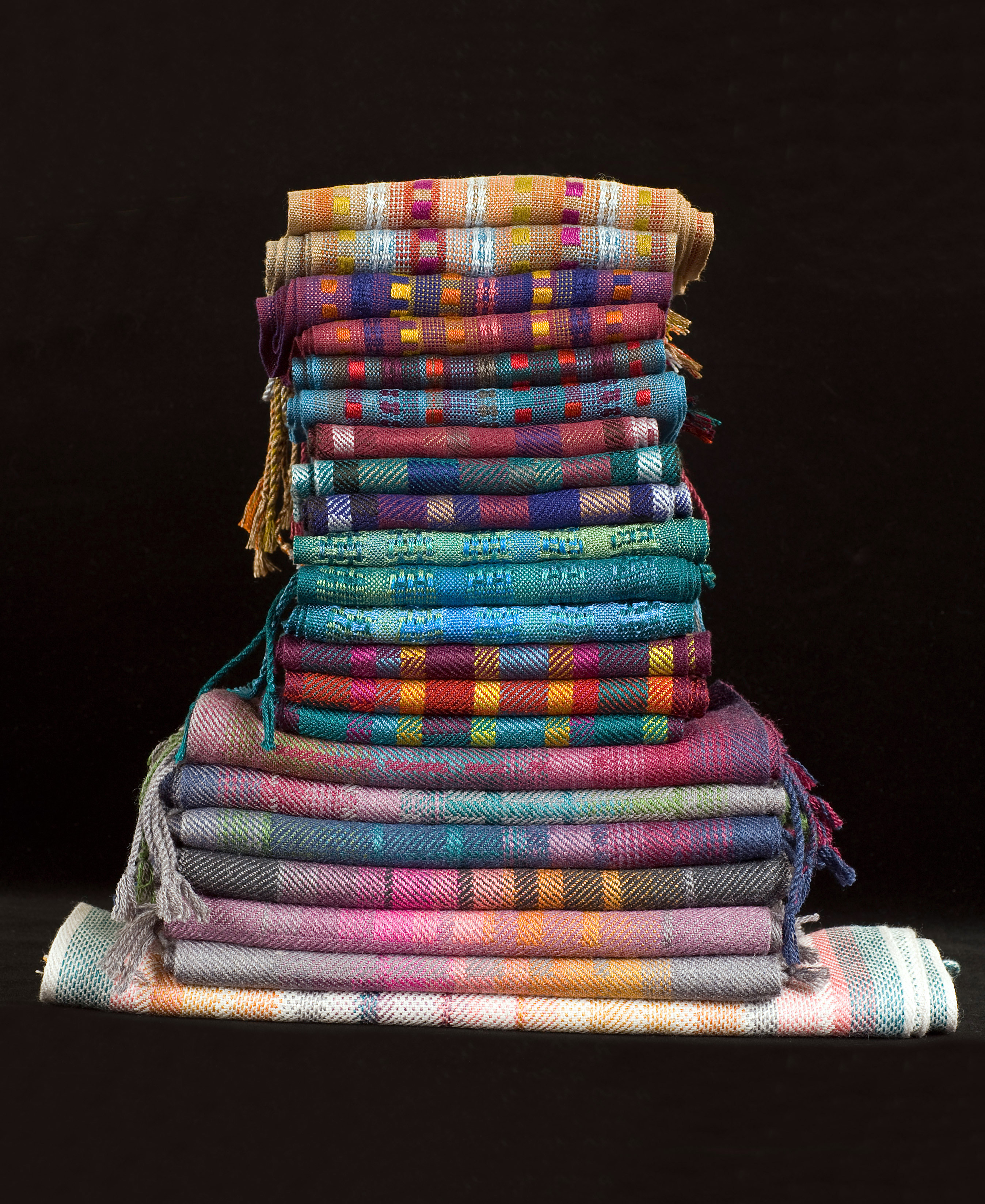 Pile of Scarves - Photo by Jody Brewer