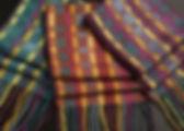 Two block twill scarves - photo by Jody