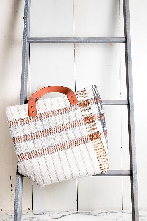 Wool Twill Tote Bag