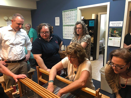 Hartford - Monday afternoon 2020 Fall Adult Floor Loom Weaving Class