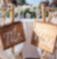 Wedding Signs & Decor