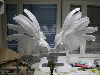 Engelsflügel für Produktion Himmel auf Erden 2002