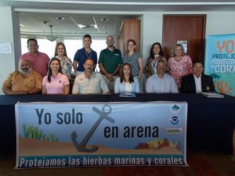 Movilizados el DRNA y otros organismos ambientales para salvar los arrecifes de coral arrasados por