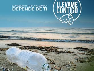 "DRNA continúa campaña ""Llévame Contigo"" para conservar nuestras playas limpias"