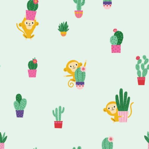 popeline-singe-Frida-marque-katia-tissu-vert-clair-ateliers-dyvonne