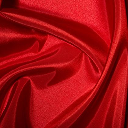 Tissu Taffetas de couleur unie rouge Vente de Tissus Aux Ateliers D'Yvonne à Kerlouan en France
