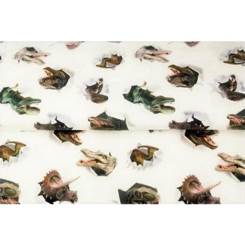 Tissu Jersey Stenzo Dinosaures