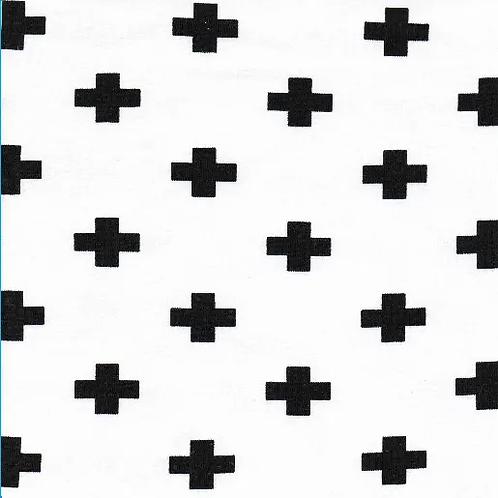 Jersey-Tissu-Blanc-et-Croix-Noire-par-Poppy-en-vente-à-kerlouan-aux-ateliers-dyvonne