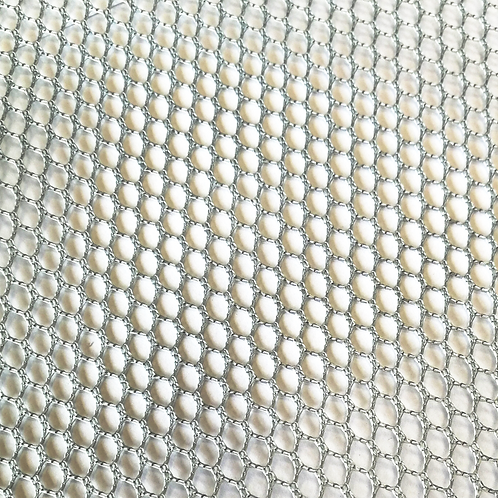 COUPON Tissu filet ou Mesh fabric gris
