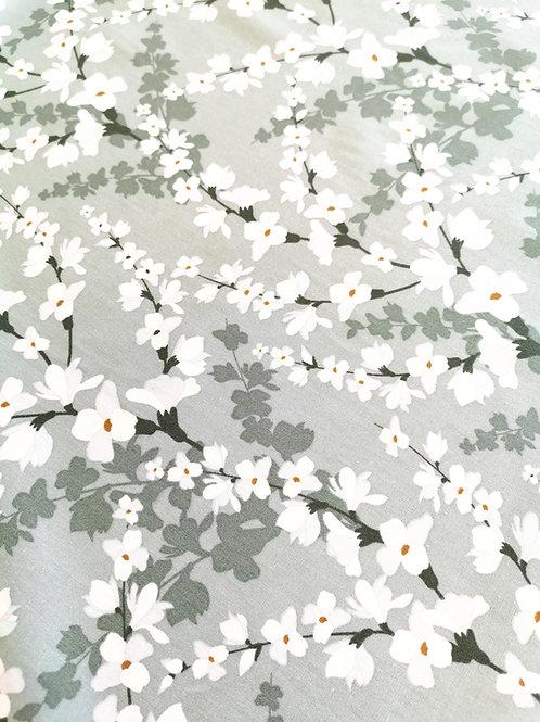 Popeline de coton Branches de Cerisiers