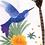popeline-tissu-foret-et-oiseaux-du-pacifique-sur-textile-blanc-2-en-vente-aux-ateliers-dyvonne-a-kerlouan