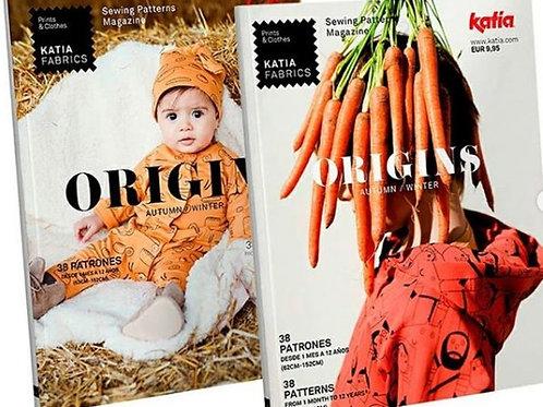 Magazine Patrons enfants Katia Fabrics