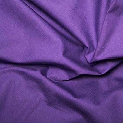 Tissus Matière popeline couleur unie violet AAY e-commerce à Kerlouan en France