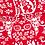 le-jersey-bio-renard-blanc-sur-tissu-rouge-tissu-en-vente-à-kerlouan-aux-ateliers-dyvonne-zoom