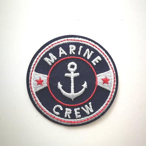Écusson thermocollant Marine Crew